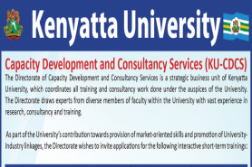 CAPACITY DEVELOPMENT AND COSULTANCY SERVICES SHORT COURSES