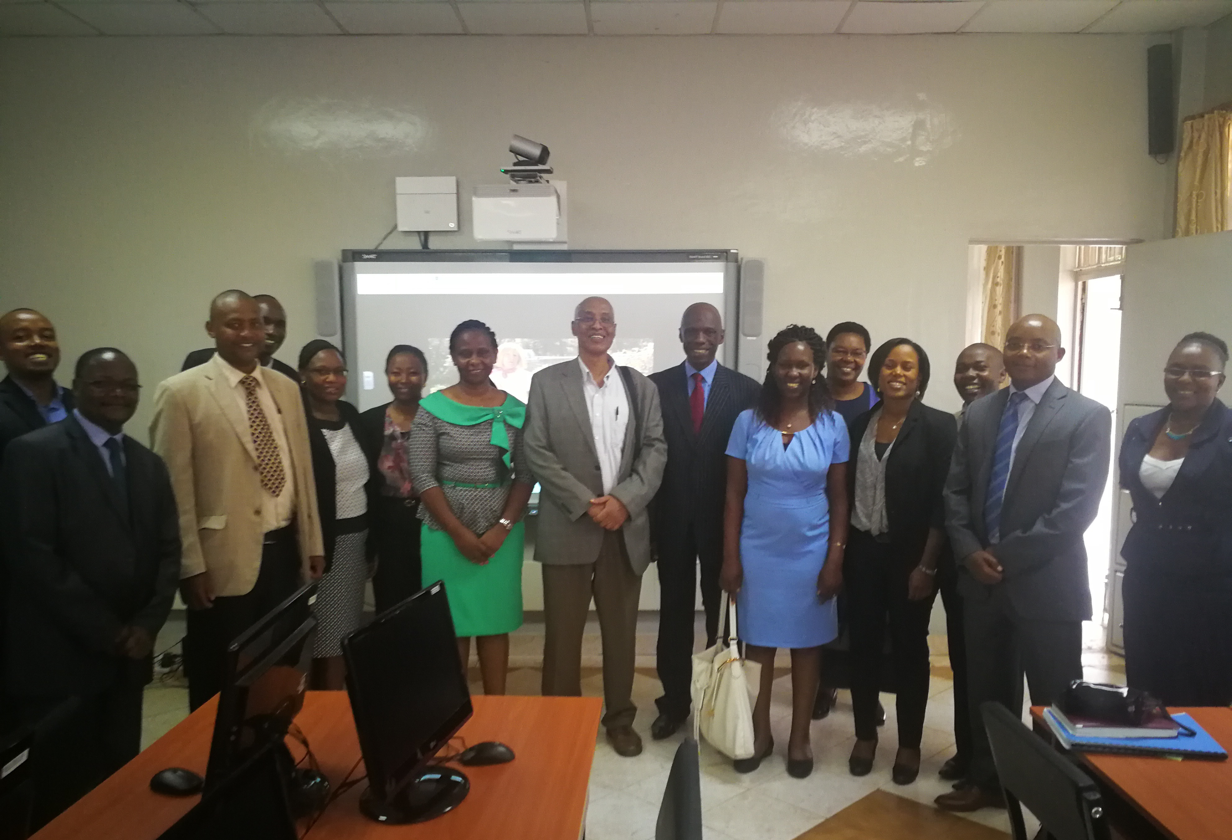 Supervision Mission by African Development Bank and African Virtual University