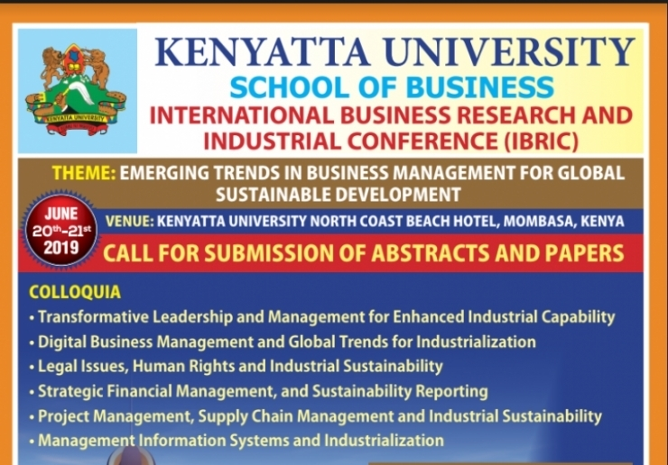 INTERNATIONAL BUSINESS RESEARCH AND INDUSTRIAL CONFERENCE (IBRIC)