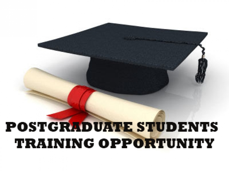 POSTGRADUATE STUDENTS TRAINING OPPORTUNITY