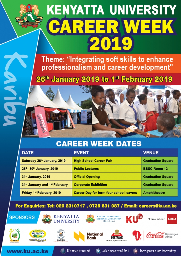 Kenyatta University Career Week - 2019