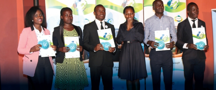 KU ECONOMICS STUDENTS - LILIAN, DAISY, EMMANUEL, IAN AND ZAKAYO  EMERGE WINNERS IN THE GMC