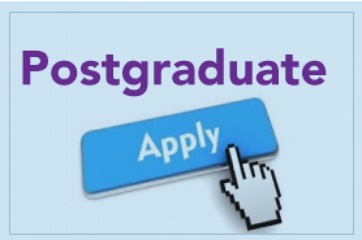APPLICATIONS FOR POSTGRADUATE PROGRAMMES BEGINNING MAY 2019