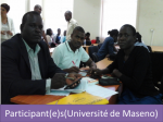 Kenyatta University and the Agence Universitaire de la Francophonie(Agency of Francophonie Universities)5