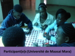 Kenyatta University and the Agence Universitaire de la Francophonie(Agency of Francophonie Universities)7