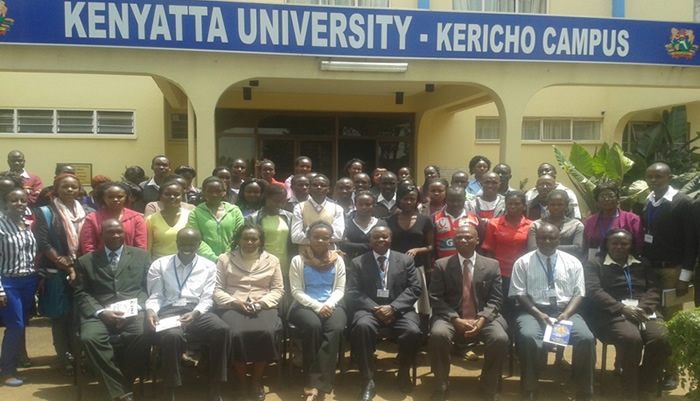 Kericho Campus Hosts its First Workshop for Students and Staff